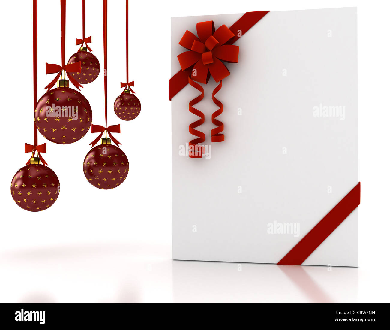 Christmas Cards Letter Box Cut Out Stock Images Pictures Alamy