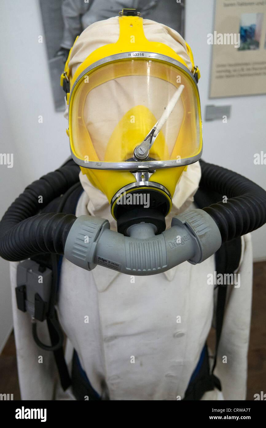 Exhibit at Deutsche Arbeitsschutzausstellung DASA or German Museum of Occupational Health and Safety in Dortmund Stock Photo