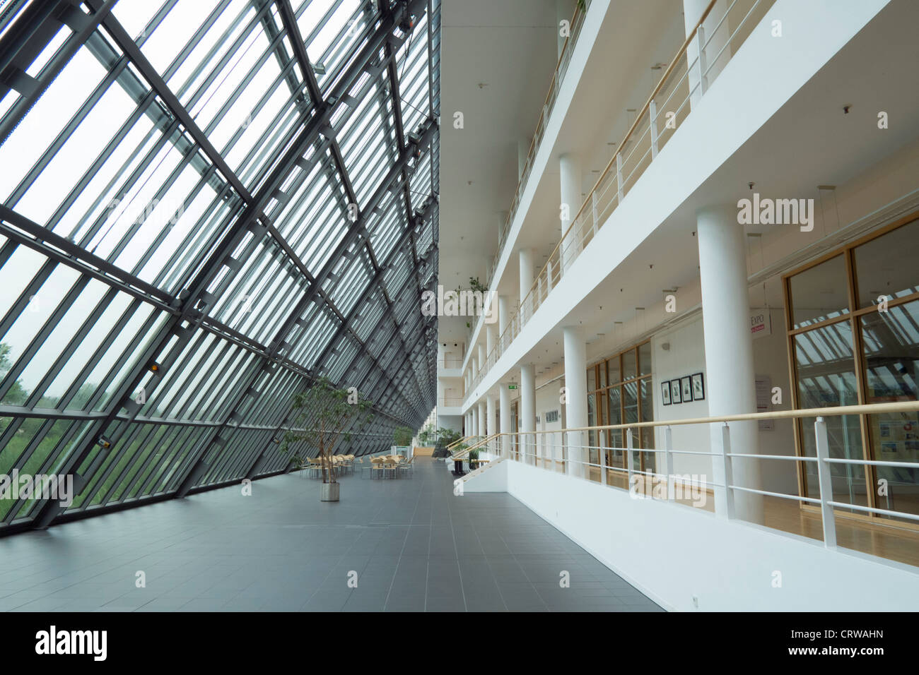 Interior of Science Park building in Gelsenkirchen in Germany - Stock Image