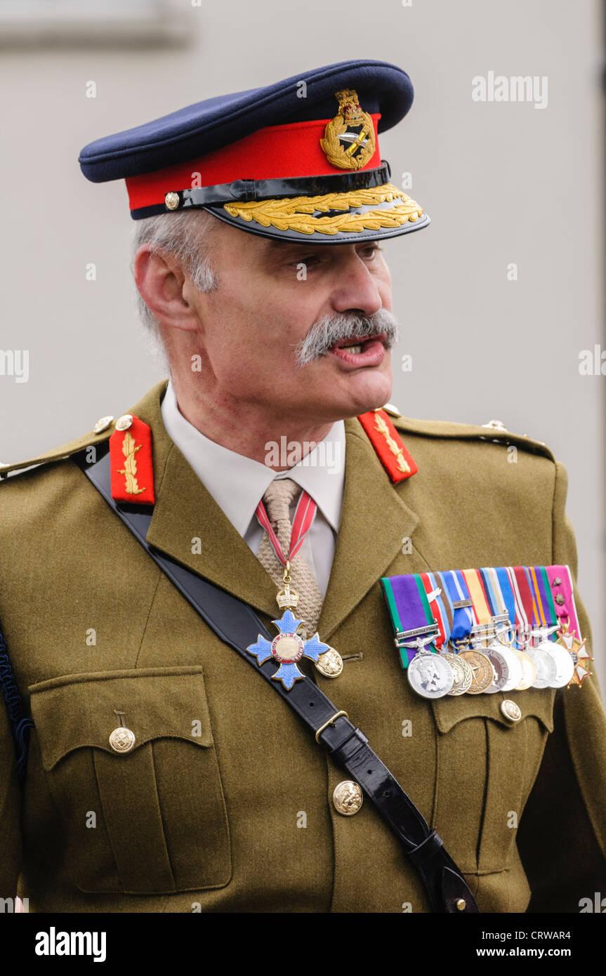 Lieutenant General Robert Thomson, CBE, British Army - Stock Image
