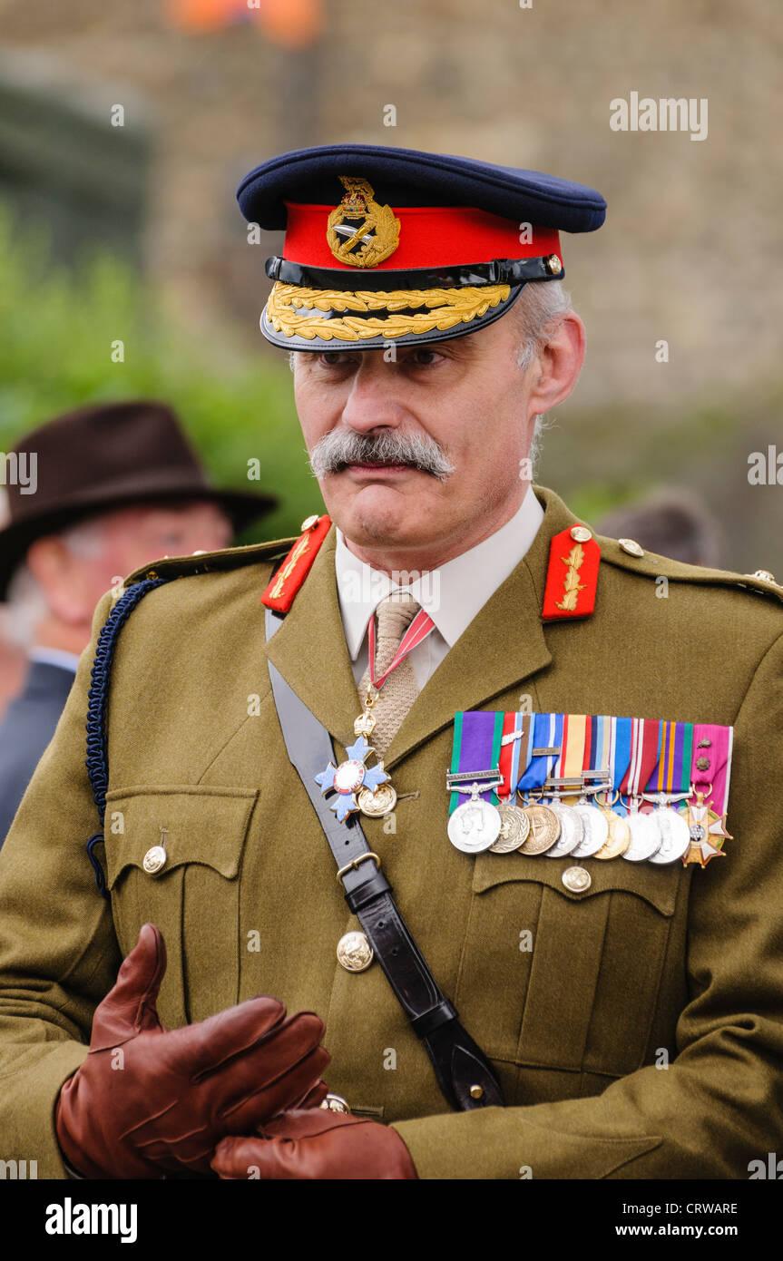 Lt General Robert Thomson Cbe British Army Stock Photo 49115122