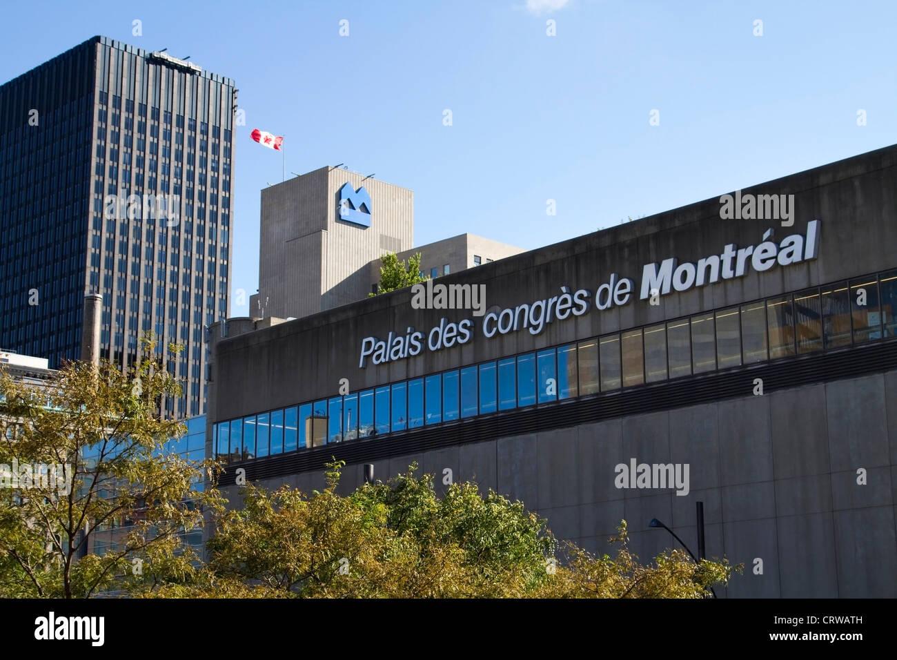 Palais des congrès de Montreal, Quebec Stock Photo