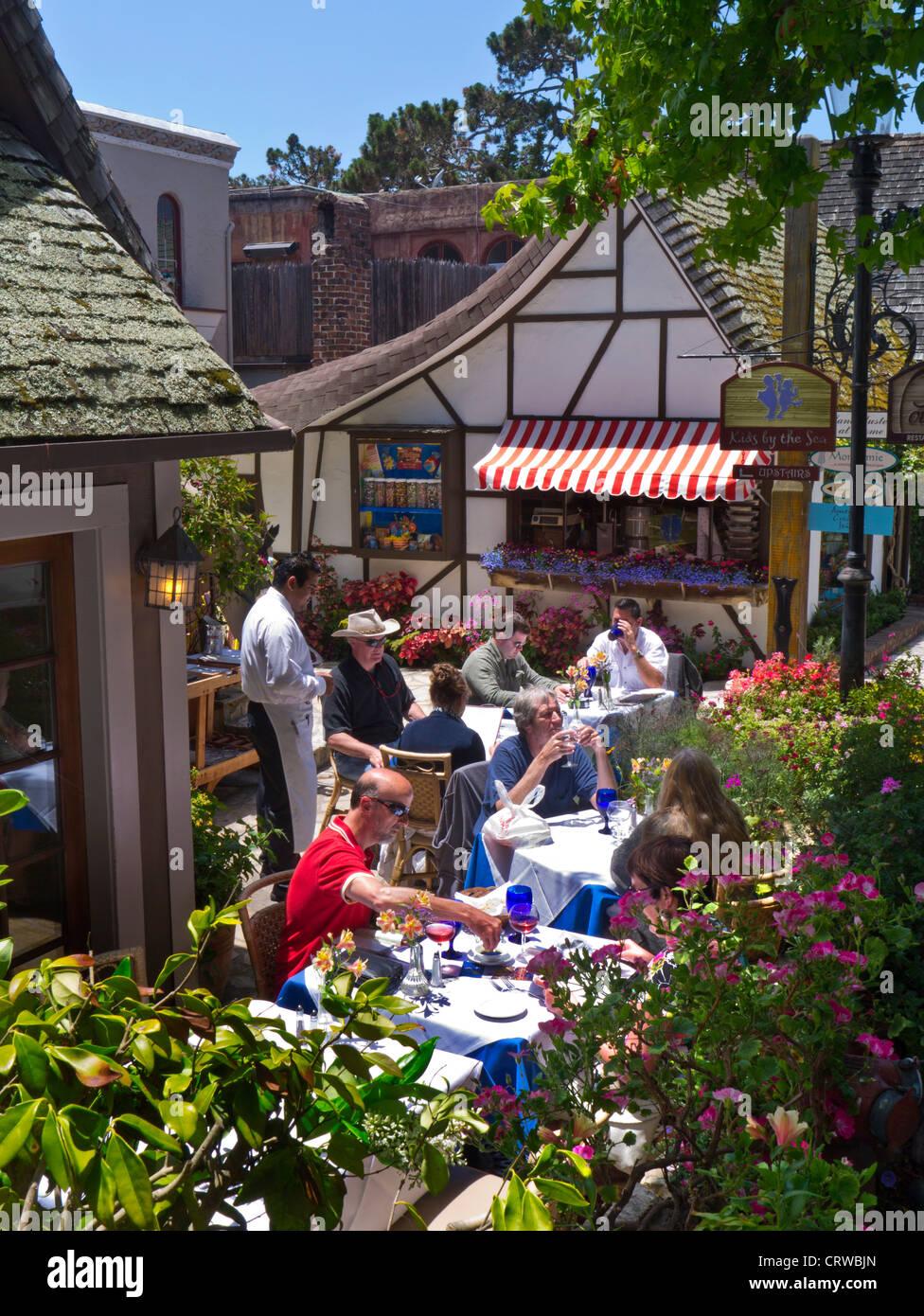 Portabella Restaurant Alfresco Terrace Dining In Carmel By