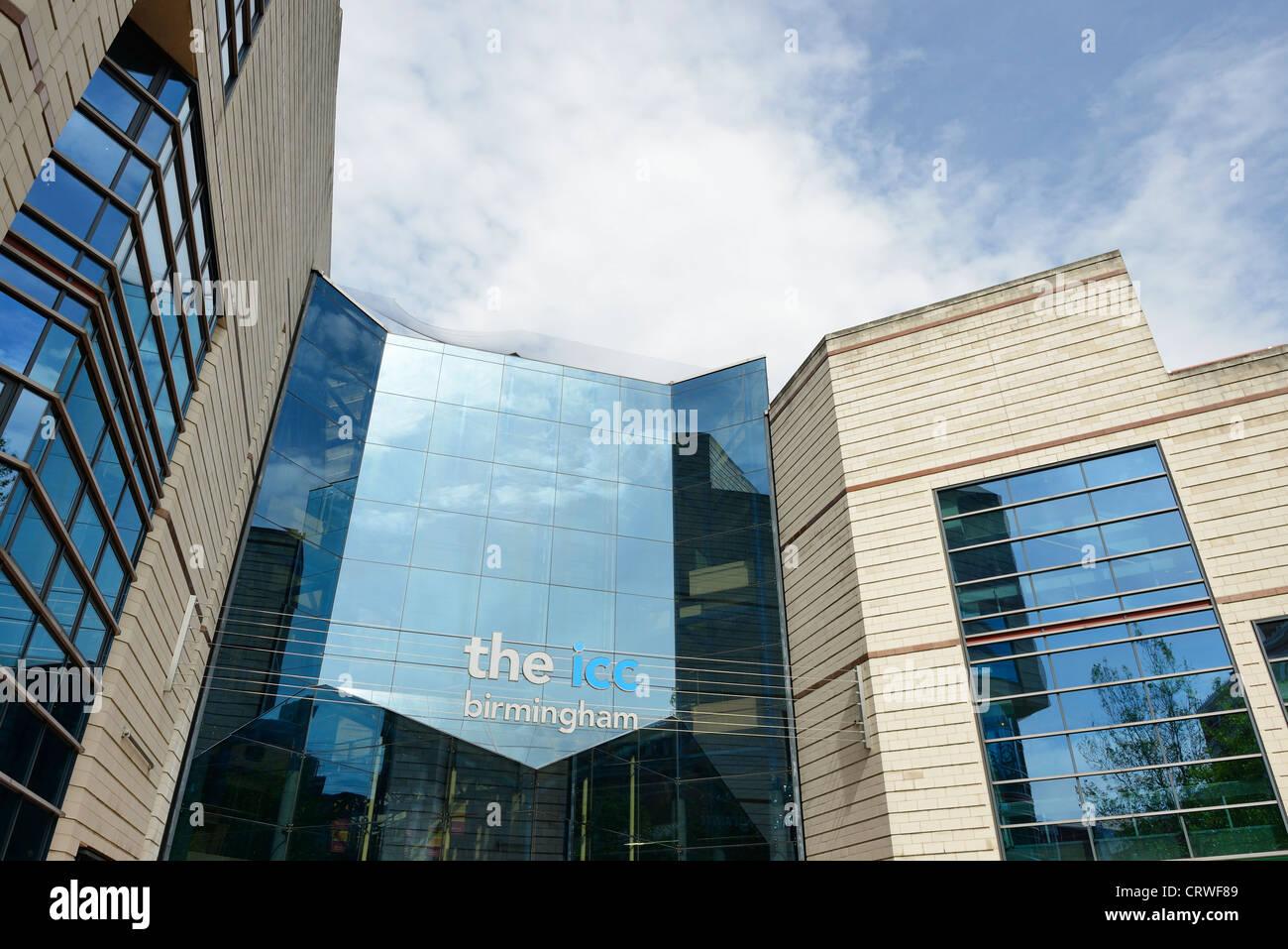 The ICC International Convention Centre Birmingham UK - Stock Image