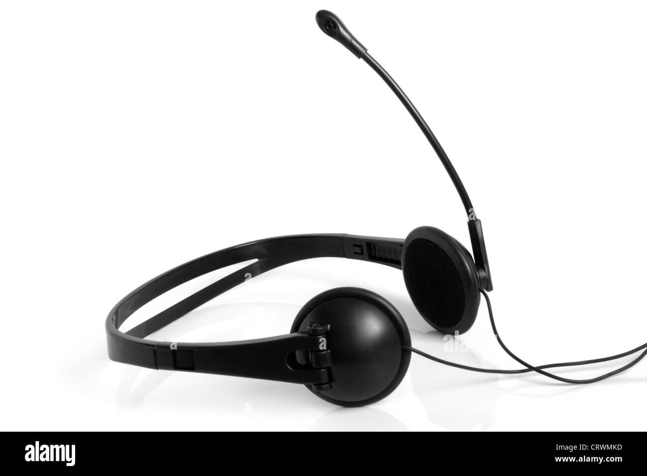 Headset - Stock Image