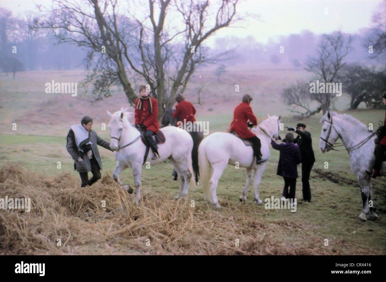 003567 - The Beatles filming Penny Lane in Knole Park, Sevenoaks on 7th February 1967 - Stock Image