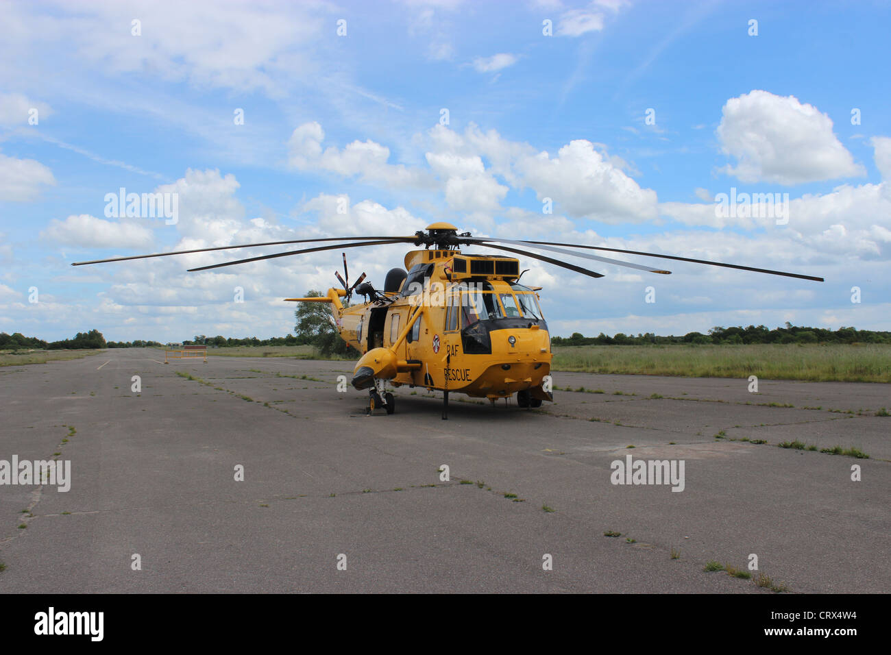 Sea King  RAF Search and Rescue - Stock Image