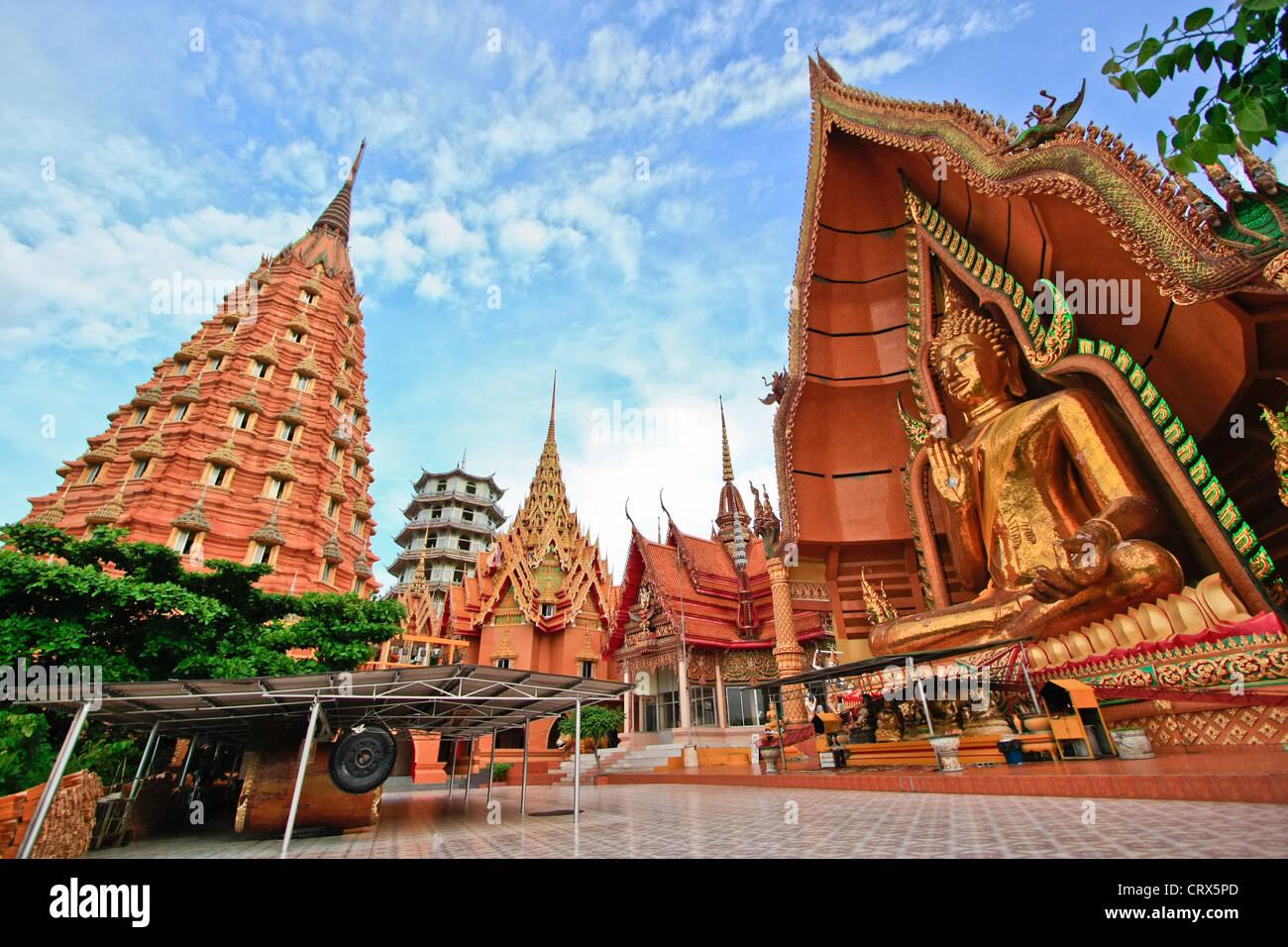 wat tum sua in kanchanaburi, thailand - Stock Image