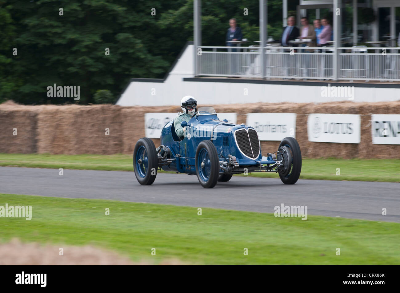 1934 Maserati 8CM at the Goodwood Festival of Speed 2012 - Stock Image