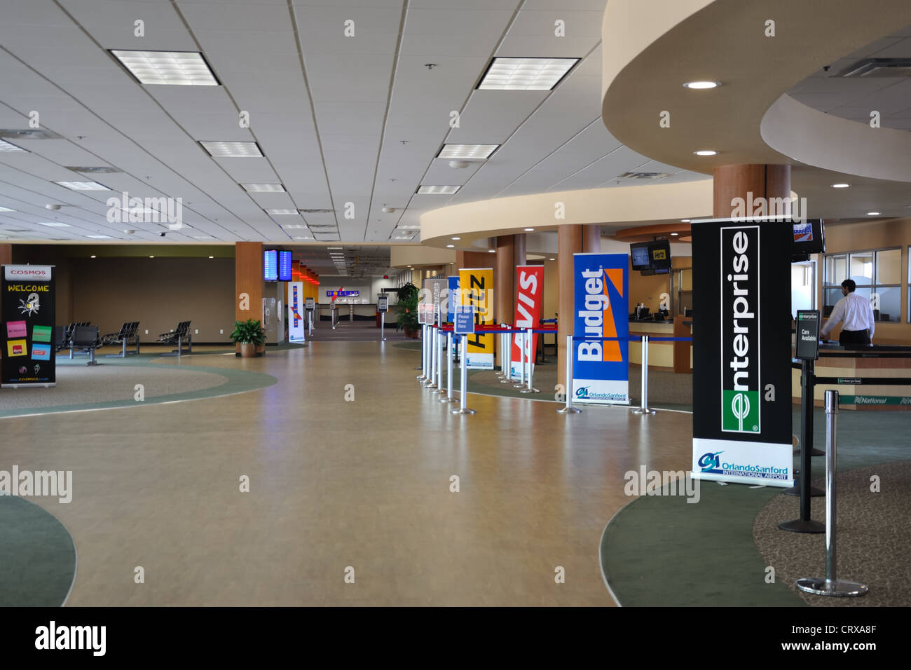 Denver International Airport has more than 10 major rental car companies serving Colorado travelers. Car rental agencies are located on airport property and provide courtesy shuttle service to and from Jeppesen Terminal.