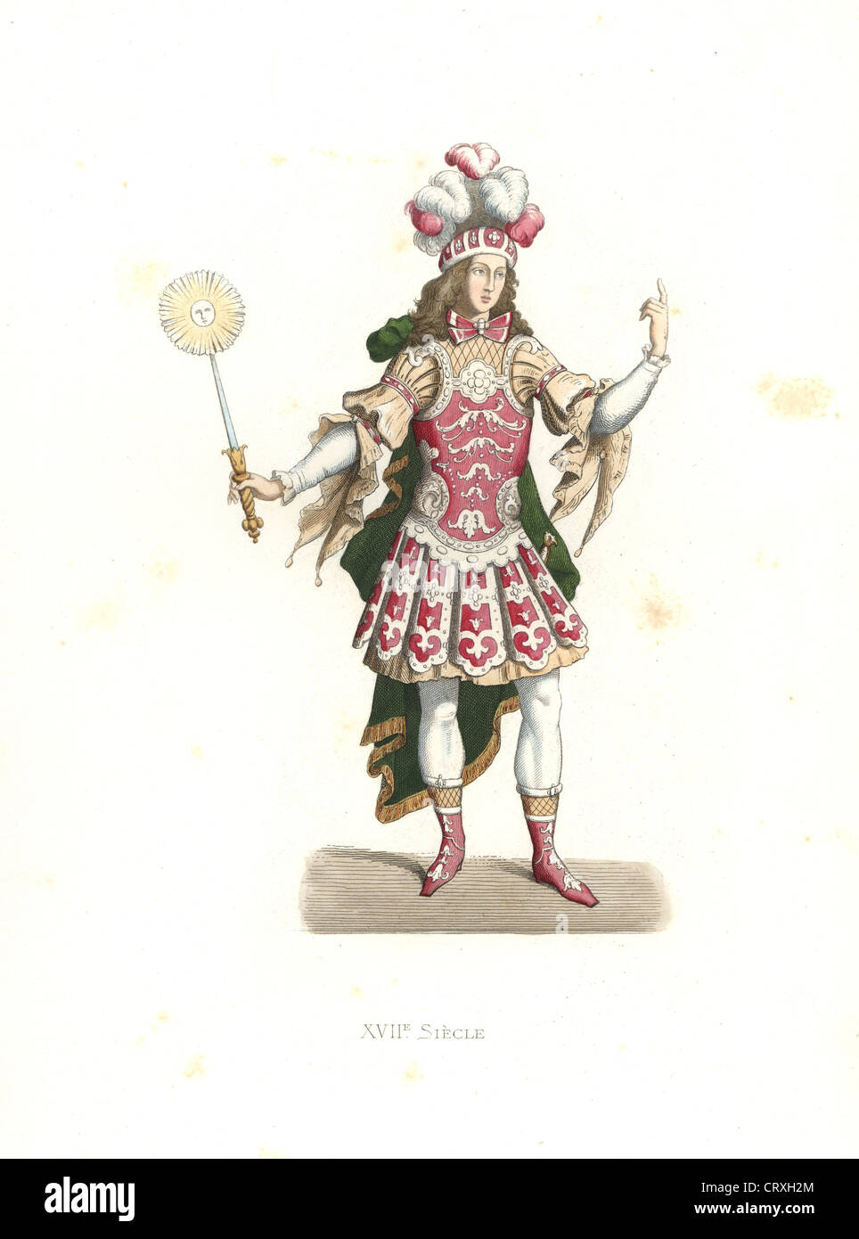 Louis Xiv The Sun King In Ballet Costume 17th Century Stock Photo Alamy