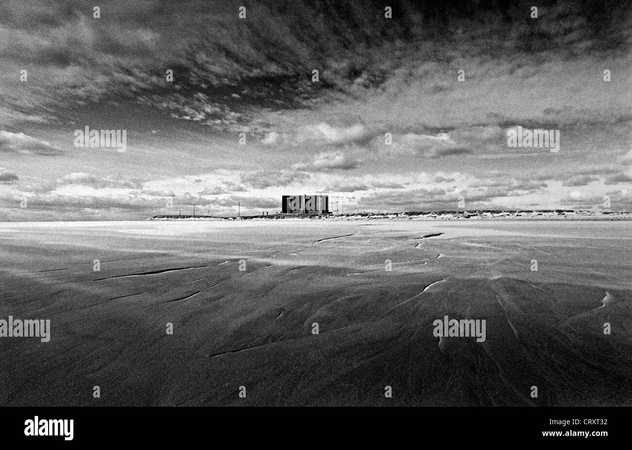 Hartlepool Nuclear Power Station. - Stock Image