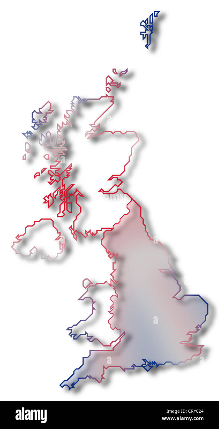 World atlas uk highlight stock photos world atlas uk highlight political map of united kingdom with the several countries where england is highlighted stock gumiabroncs Choice Image