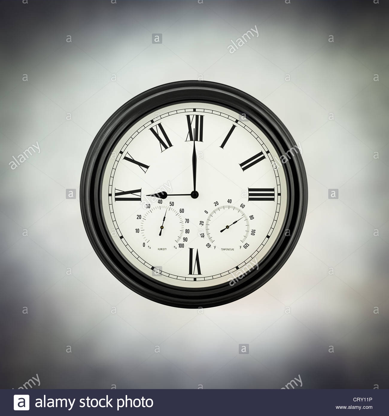 nine oclock - Stock Image