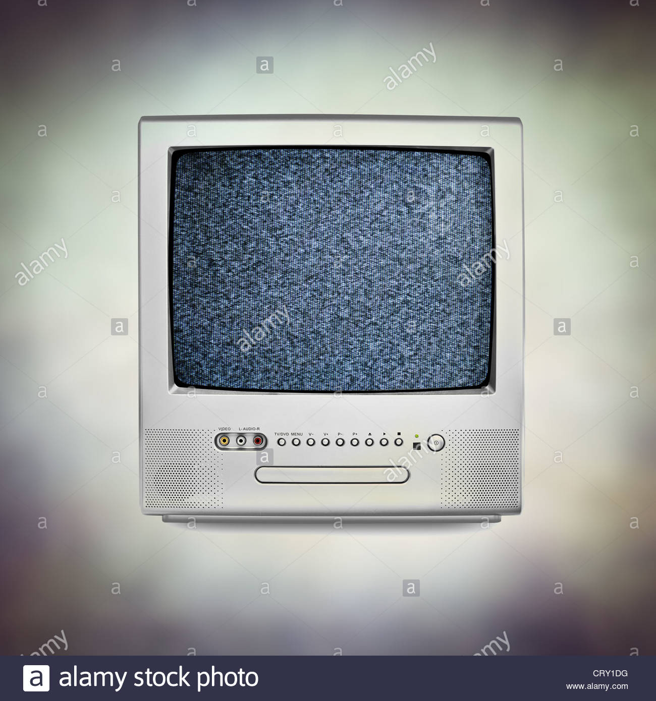 television static - Stock Image