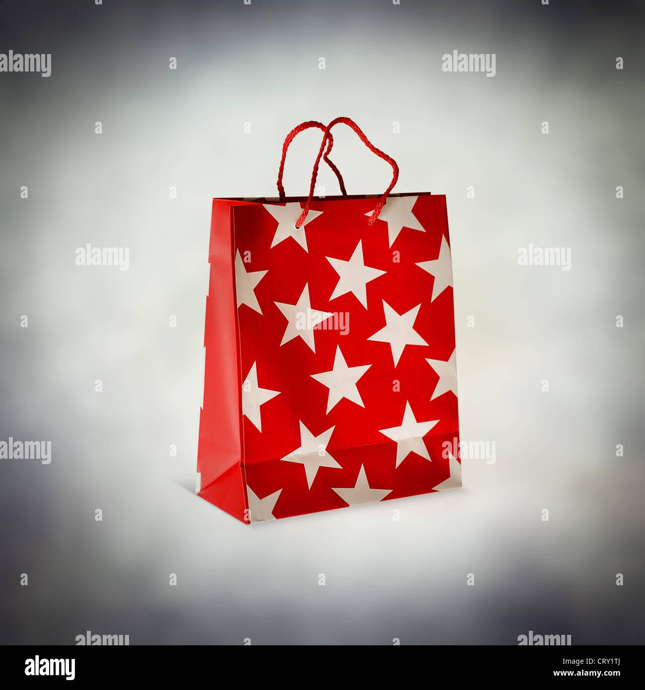 gift bag - Stock Image