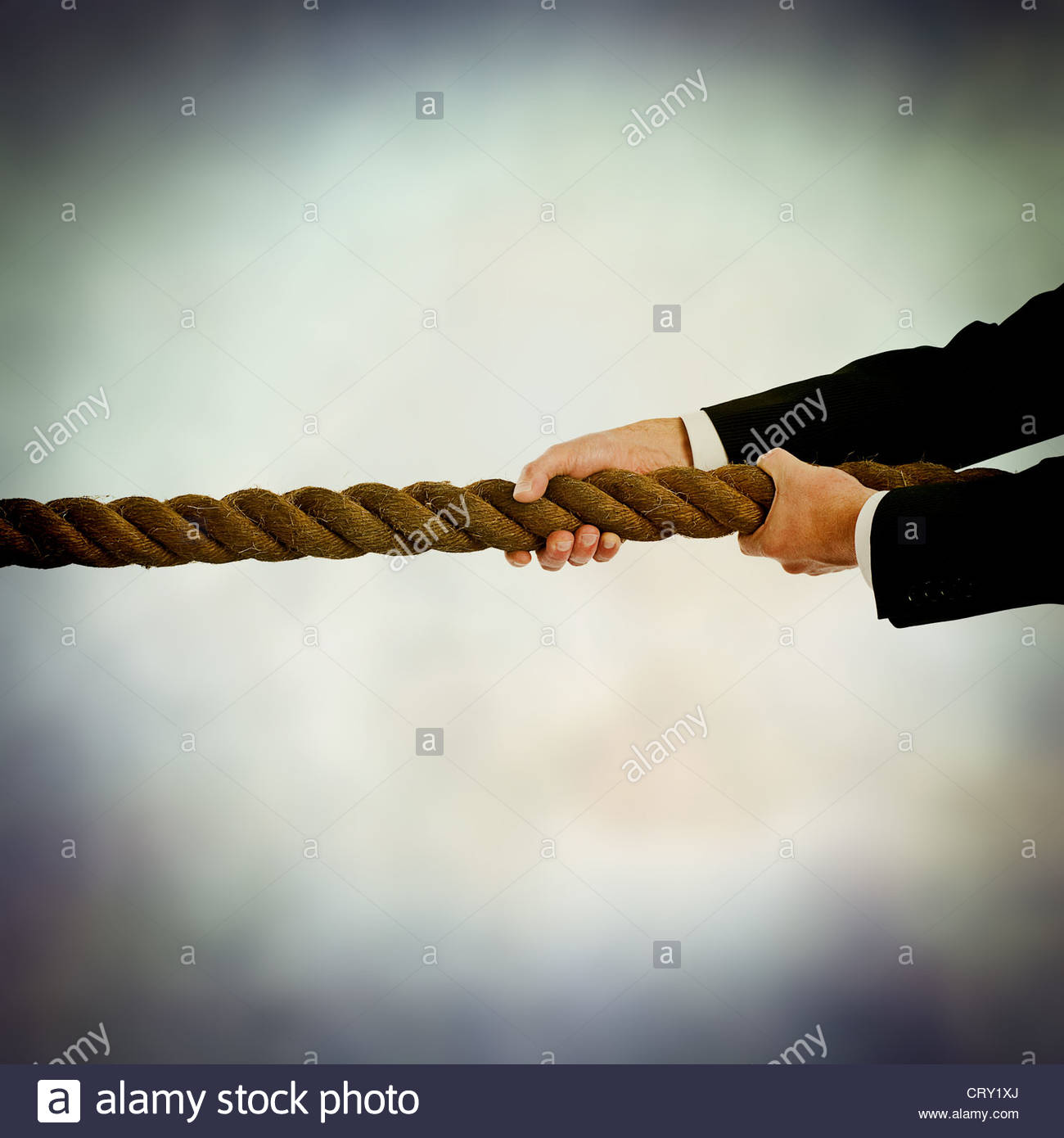 pull rope - Stock Image