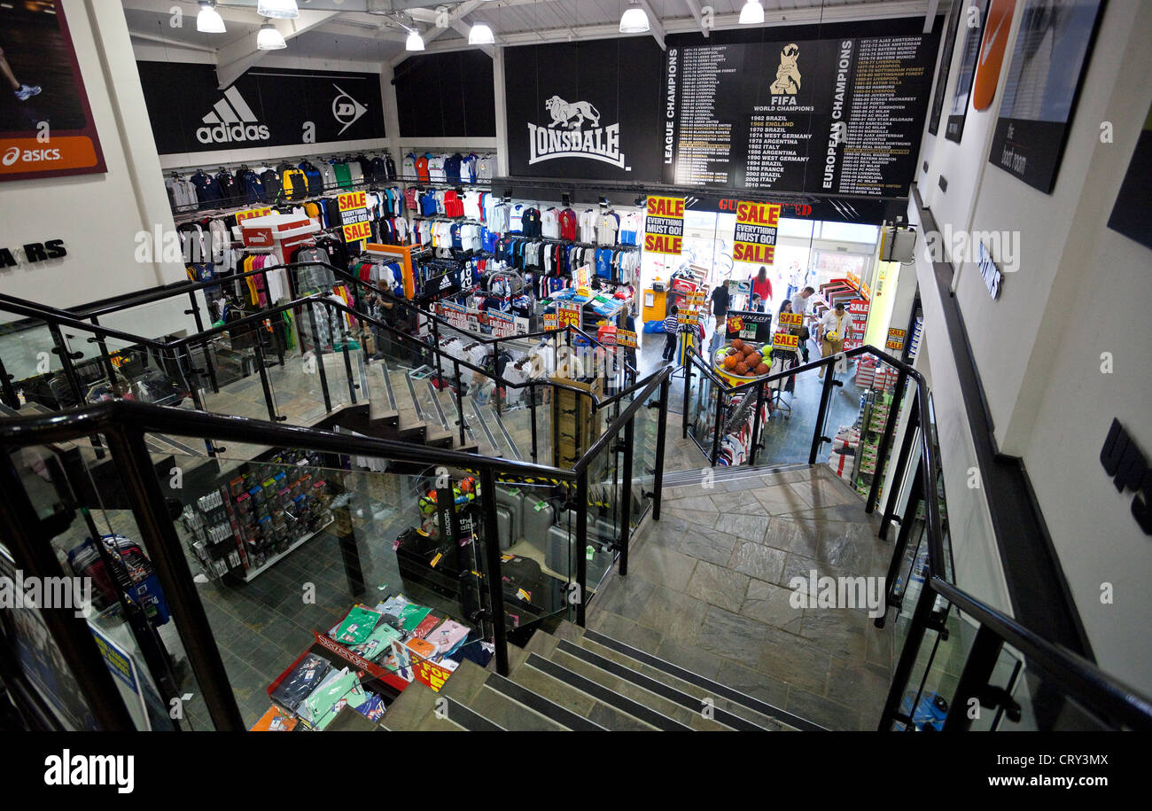 Sports Direct Interior High Resolution Stock Photography and