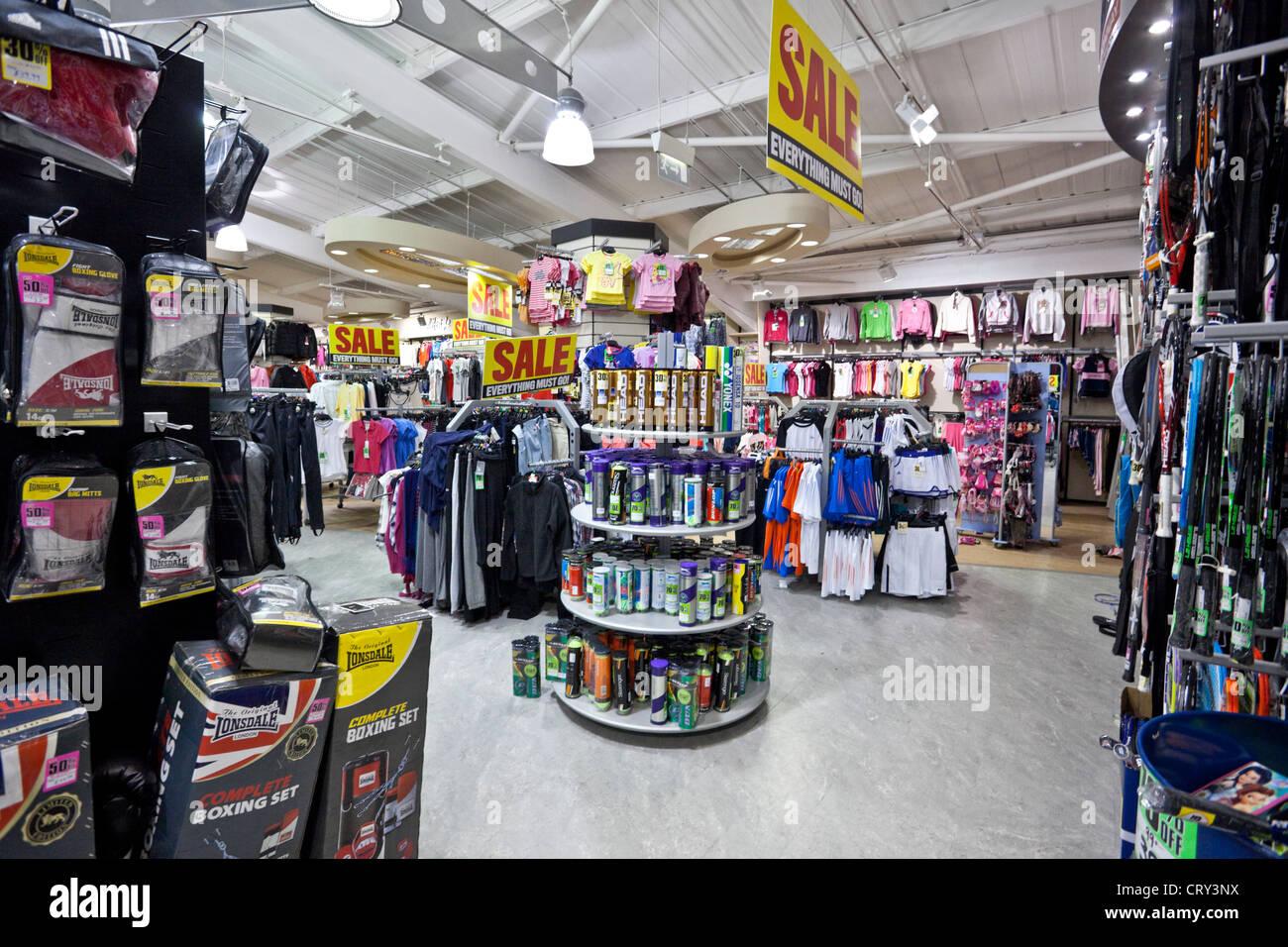 44e23f67e7 Sports Store Interior Stock Photos   Sports Store Interior Stock ...
