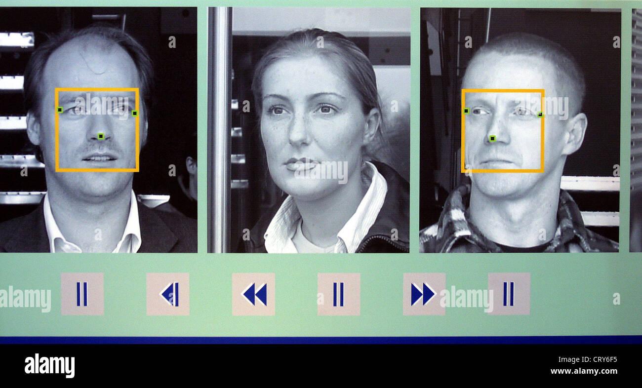 Food, SECURITY Exhibition, biometric identification - Stock Image
