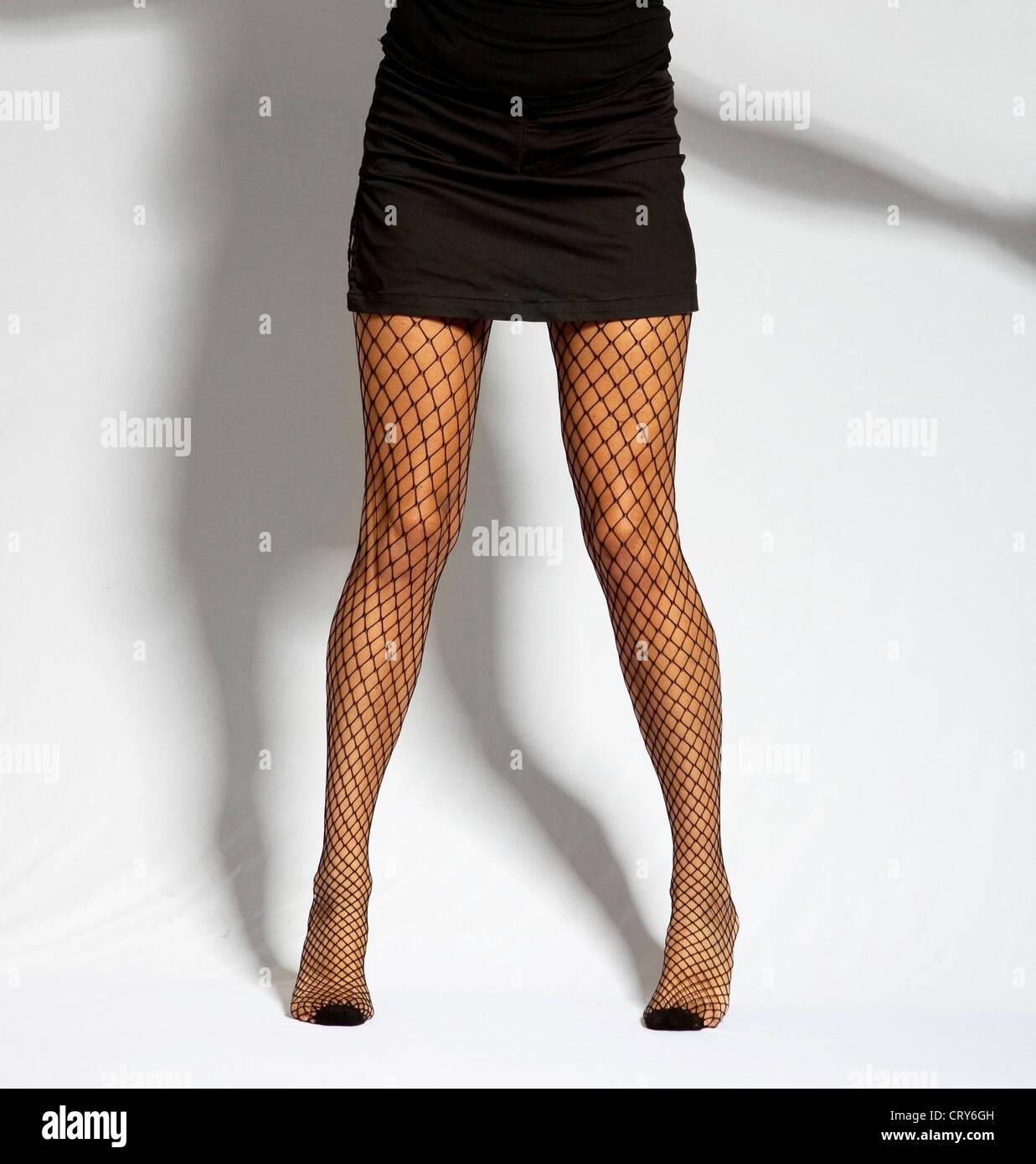 Long shapely legs