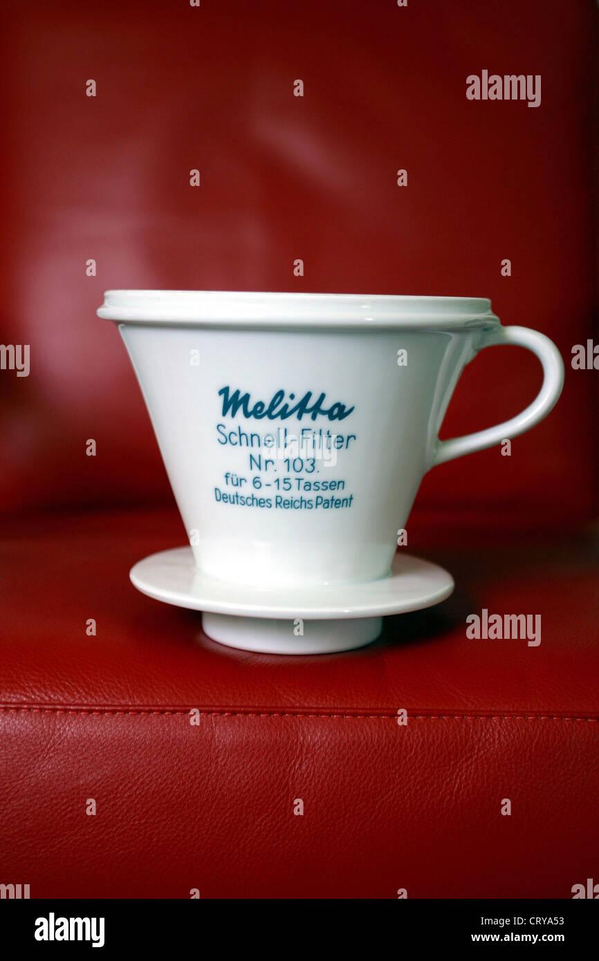 Minden, Melitta, quick filter No.103 - Stock Image