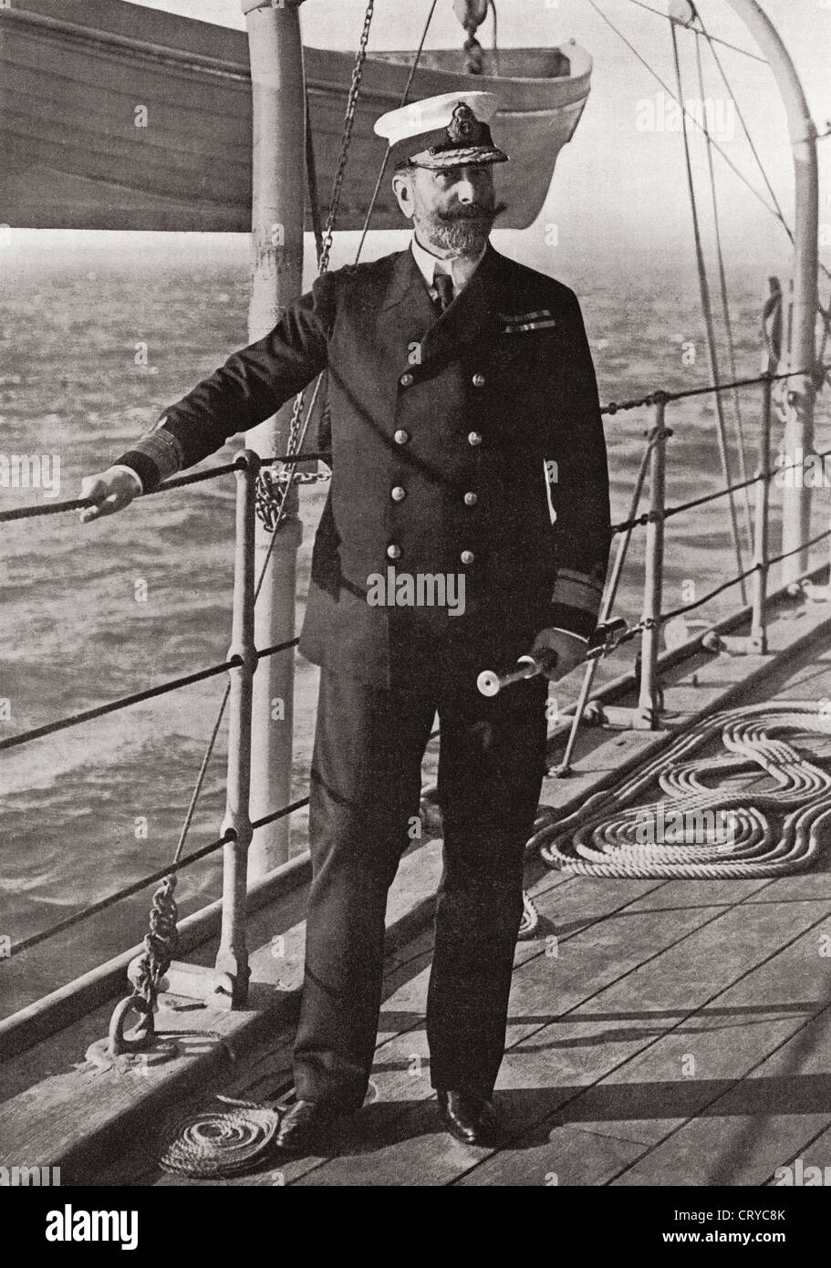 Louis Alexander Mountbatten, 1st Marquess of Milford Haven, 1854 – 1921, formerly Prince Louis Alexander of - Stock Image