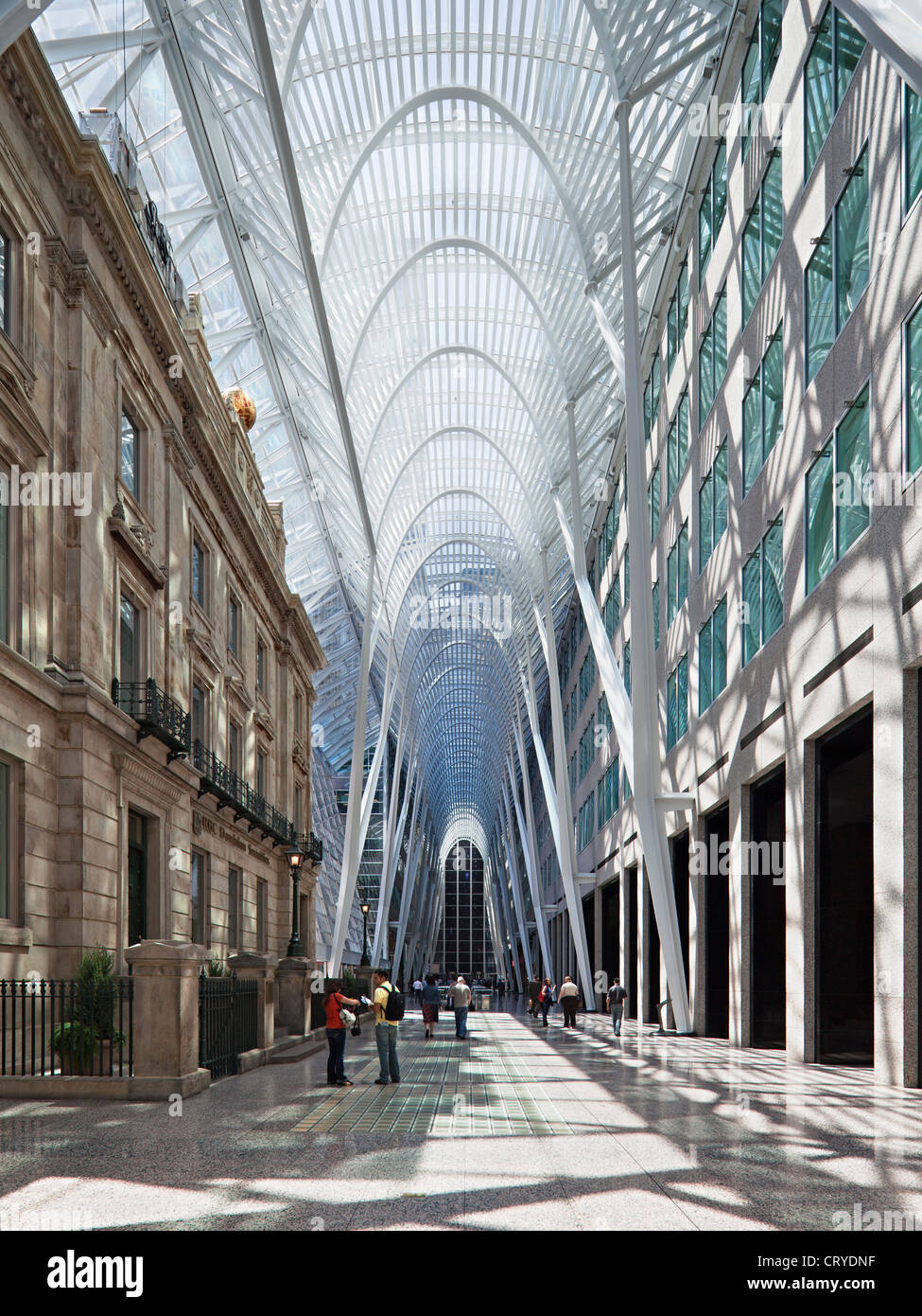 BCE Brookfield place, Toronto - Stock Image