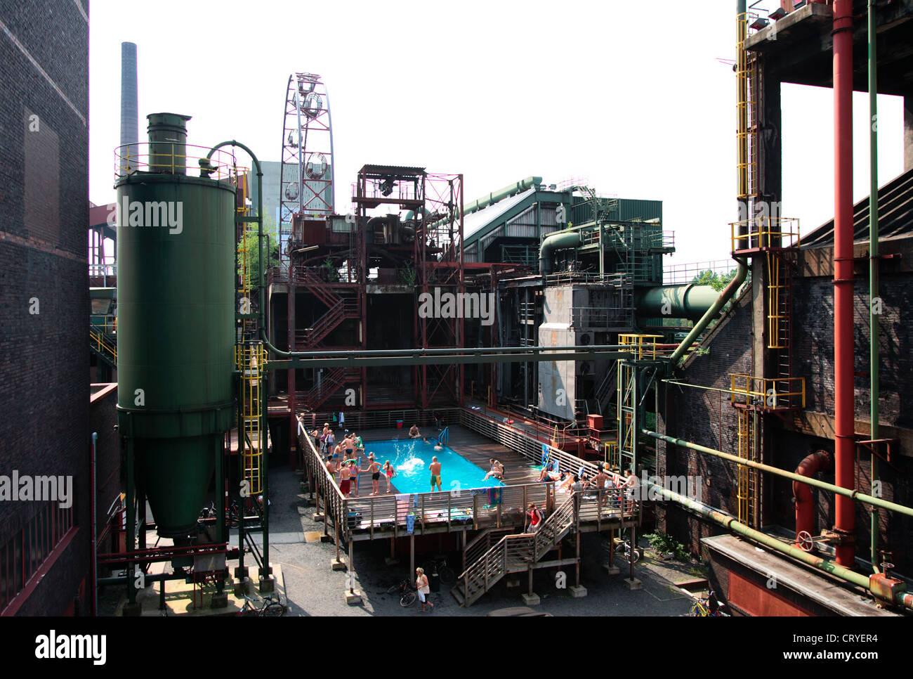 Food, pool plant Zollverein - Stock Image