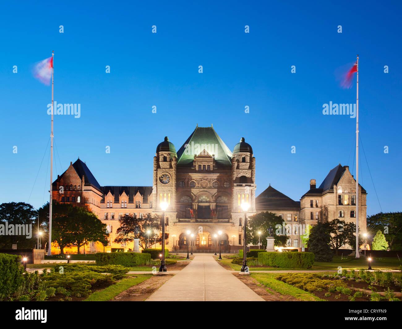Ontario Legislative Assembly Legislature, Toronto - Stock Image