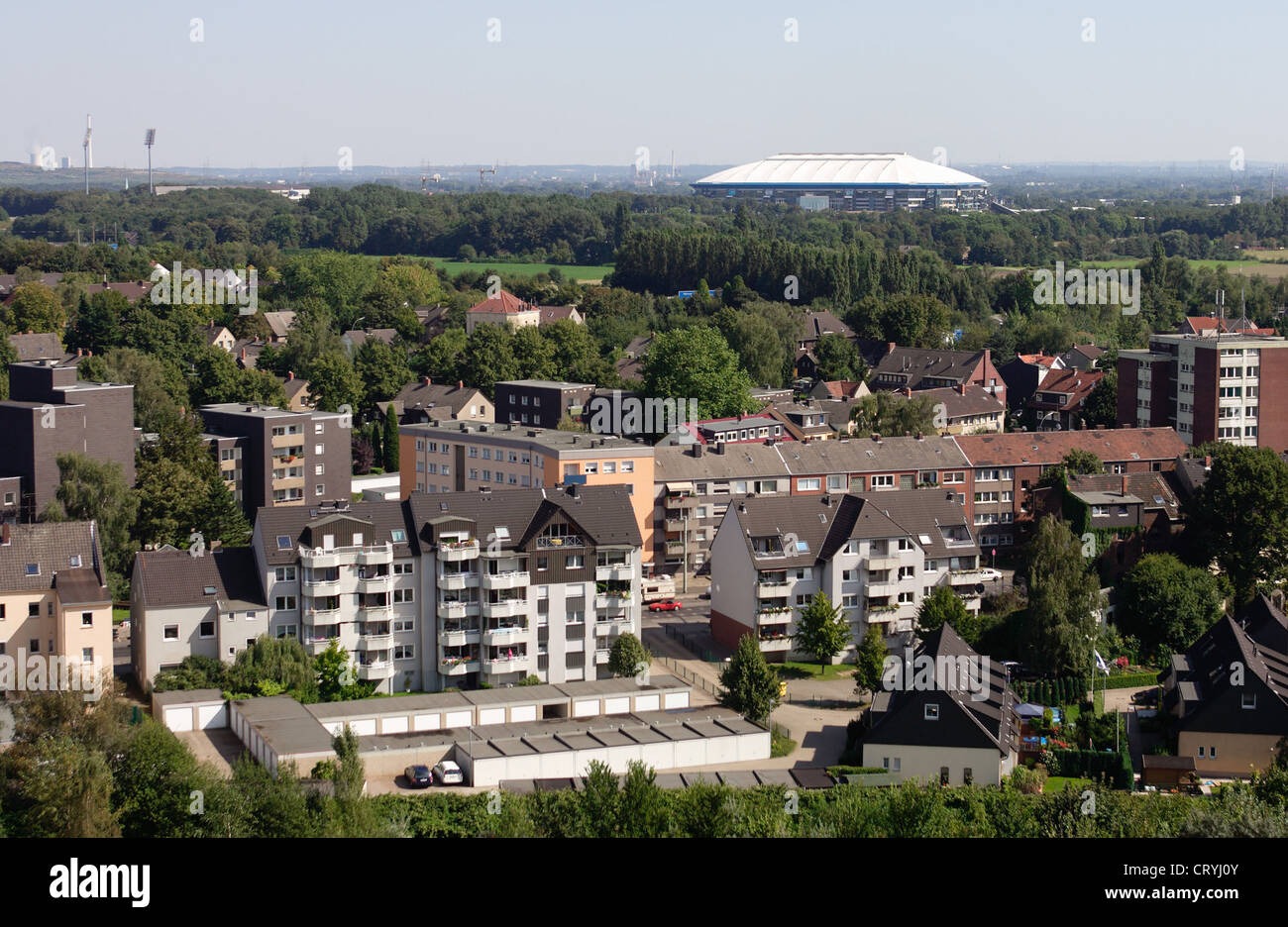 gelsenkirchen with schalke arena city facts stock photo 49164667 alamy. Black Bedroom Furniture Sets. Home Design Ideas