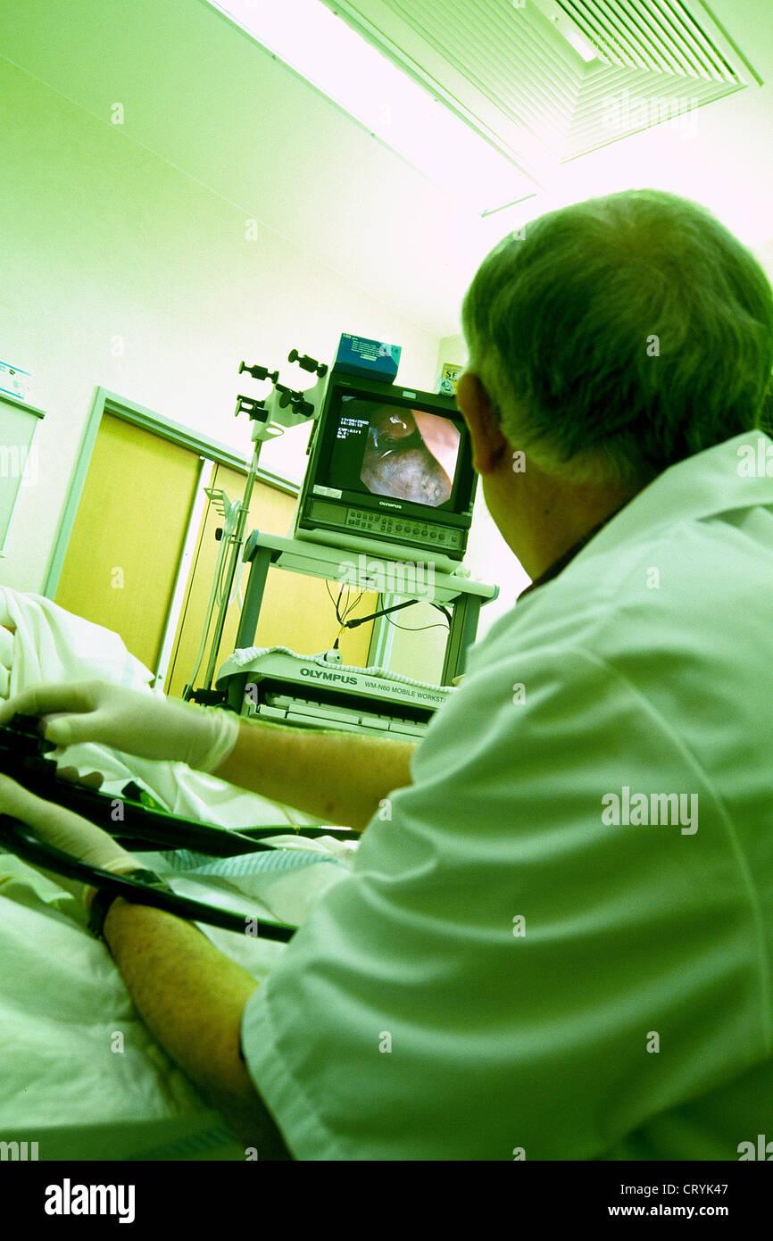 Endoscopy Department: COLON, ENDOSCOPY EXAMINATION Stock Photo: 49165543