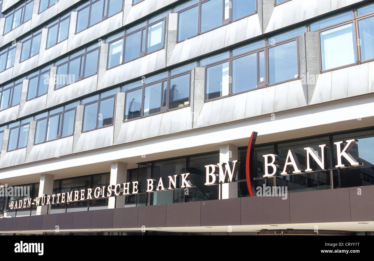Logo Baden-Wuerttembergische Bank BW Bank - Stock Image