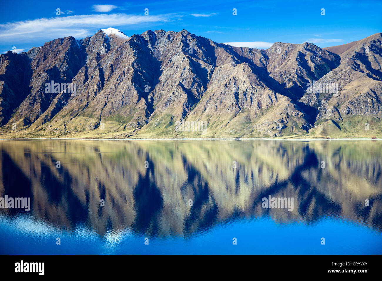 Lake Hawea, South Island of New Zealand 9 - Stock Image