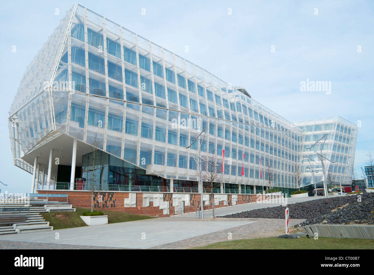 Headquarters office building of Unilever in Hafen city Hamburg Germany Stock Photo