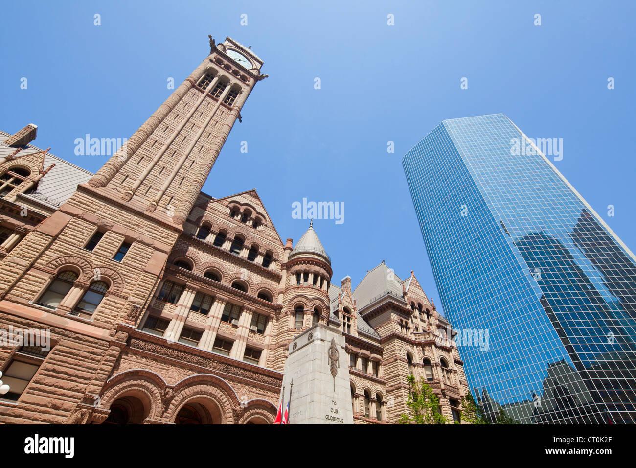 Old City Hall, Toronto - Stock Image