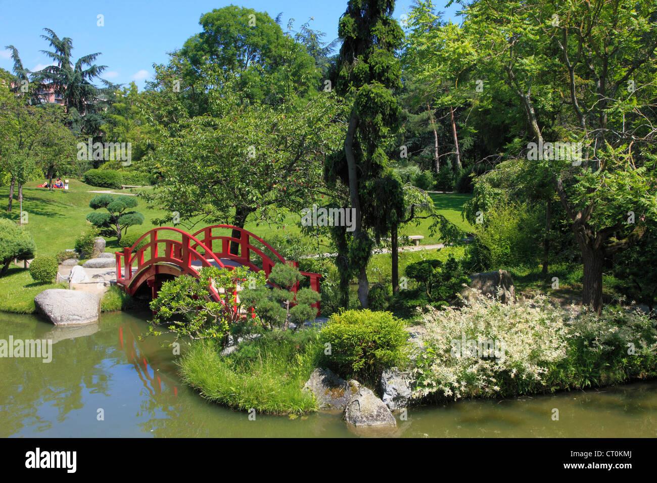 Jardin Japonais Stock Photos & Jardin Japonais Stock Images - Alamy