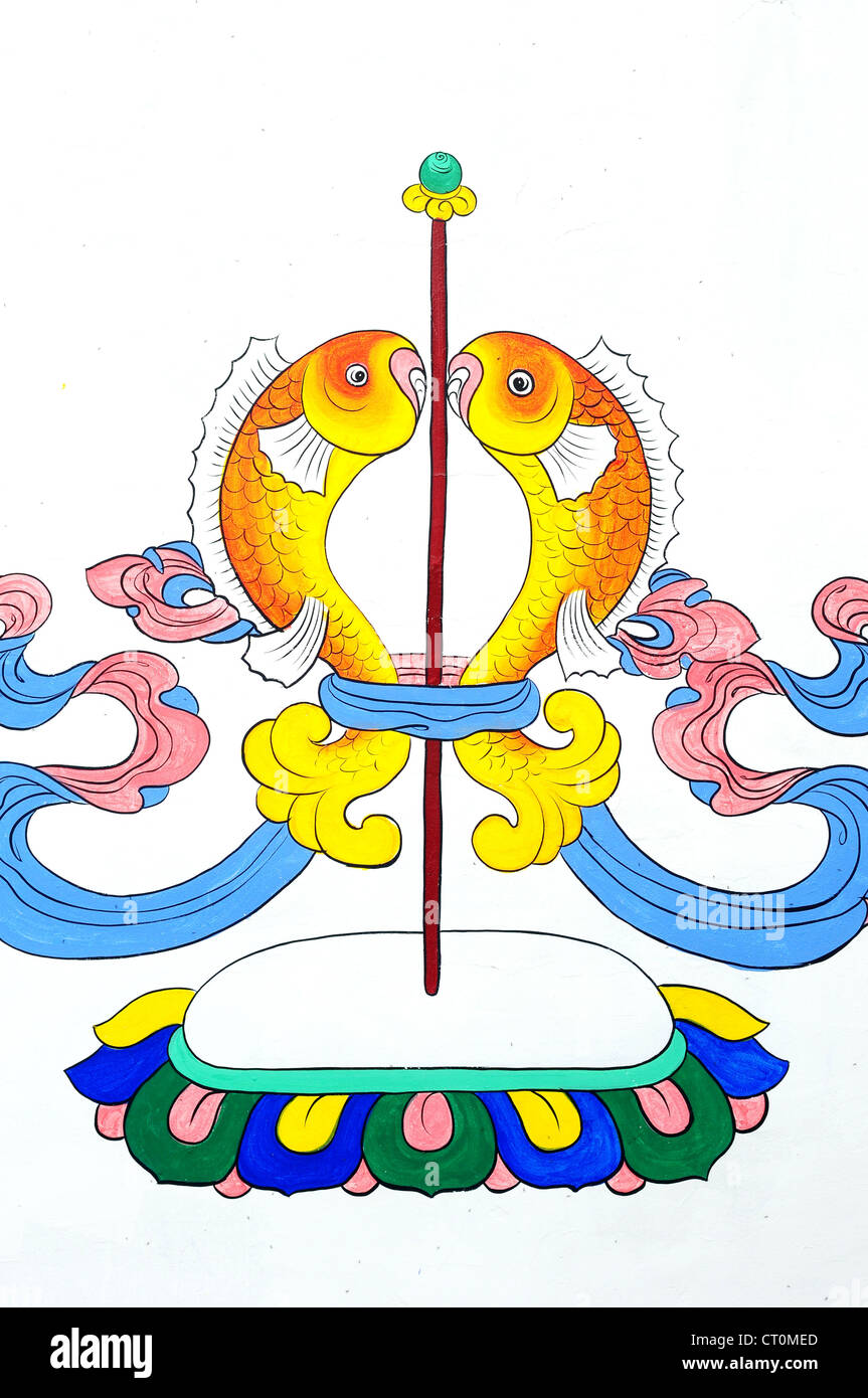 art religion buddhism tibet tibetan asia painting buddhist wall red ...