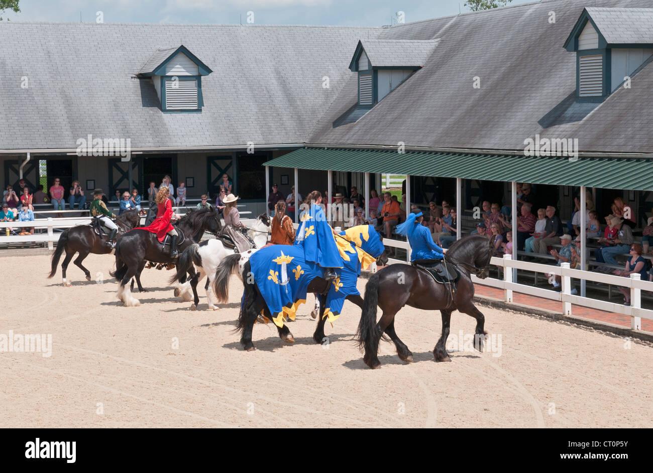 Kentucky, Lexington, Kentucky Horse Park, The National Horse Center