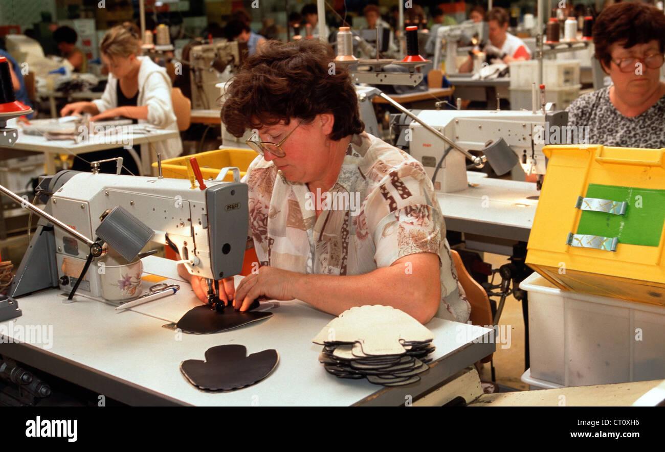 WALDI shoe factory in Hassfurt am Main Stock Photo: 49193346 - Alamy