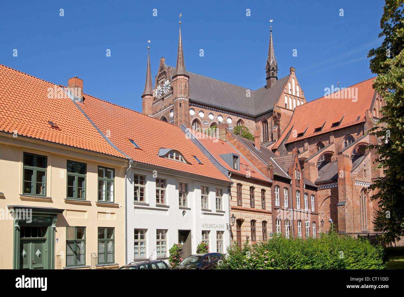 Georgen Church, Wismar, Mecklenburg-West Pomerania, Germany - Stock Image