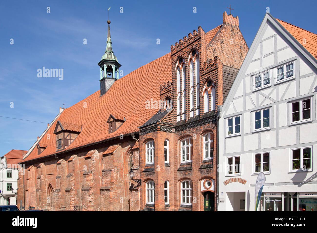 Heilig Geist Church, Wismar, Mecklenburg-West Pomerania, Germany - Stock Image