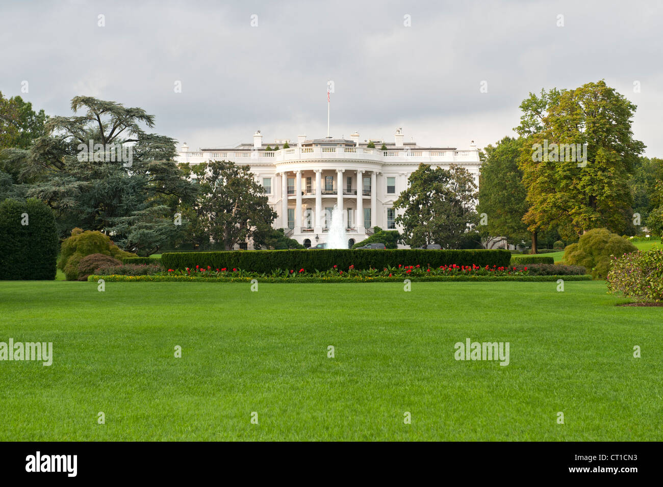 The White House, Washington DC, USA. - Stock Image