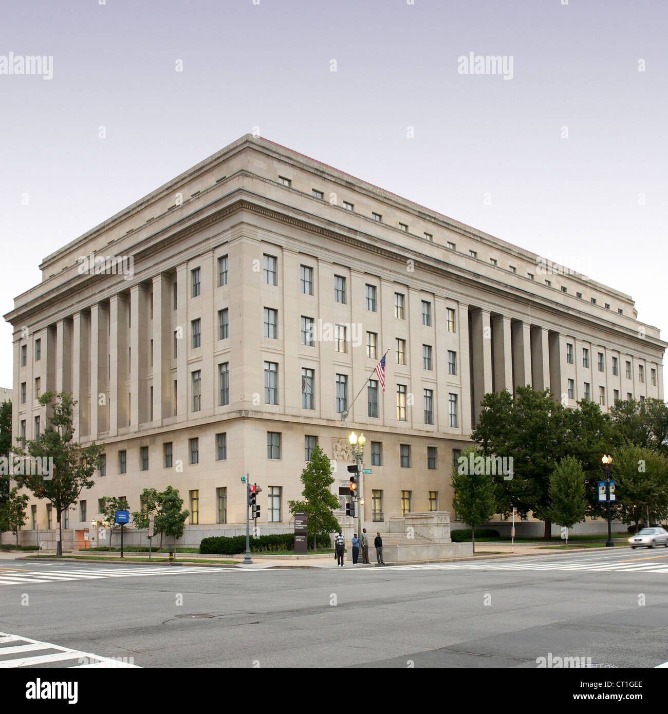 Federal Trade Commission building in Washington DC, USA. - Stock Image