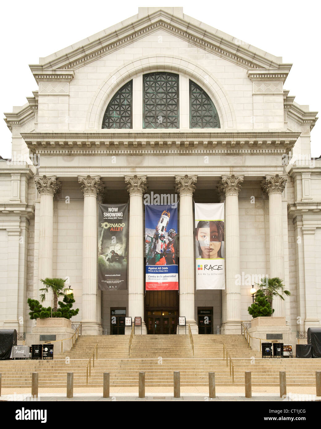 National Museum of Natural History in Washington DC, USA. - Stock Image