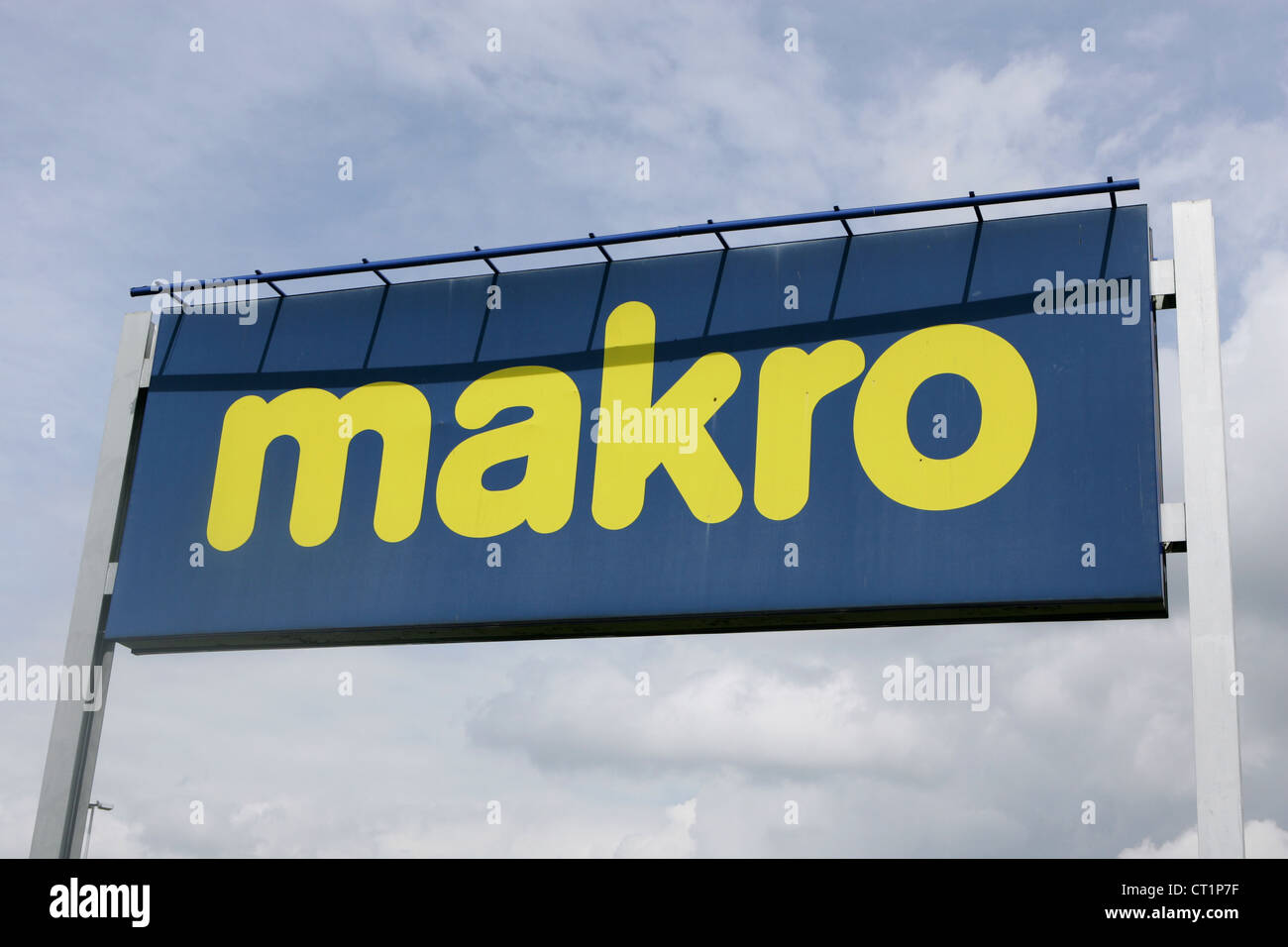 makro - wholesale store in birmingham uk - Stock Image