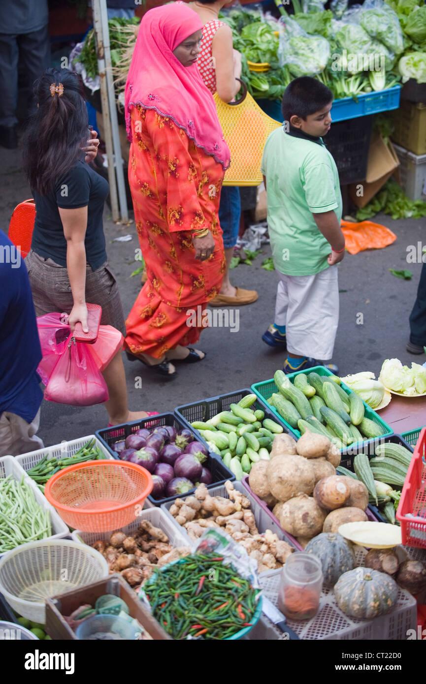 Bangsar Sunday market, Kuala Lumpur, Malaysia, South East Asia - Stock Image