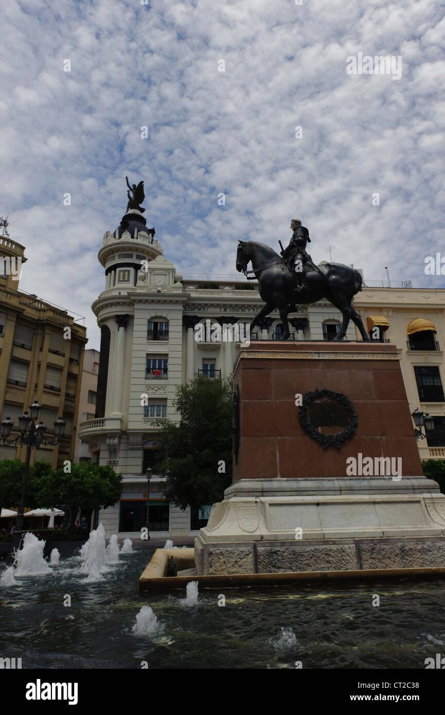 Plaza de las Tendilla ,Córdoba Stock Photo
