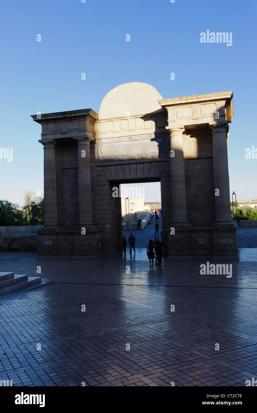 Arco del Triunfo Cordova Stock Photo