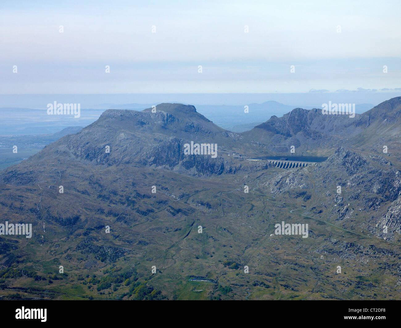 Mountain Top resevoir, Blaenau Festiniog, North Wales, UK - Stock Image